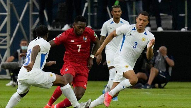 Kvalifikační zápas Zlatého poháru Panama - Curacao.
