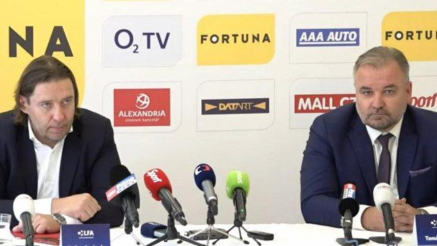 Baráž se ruší, první liga bude s 18 týmy. Šéf Ligové fotbalové asociace Dušan Svoboda vysvětluje proč.