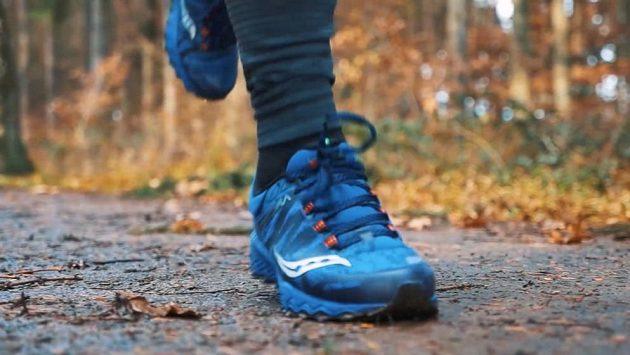 Běžecké boty Saucony Peregrine 7 Arctic