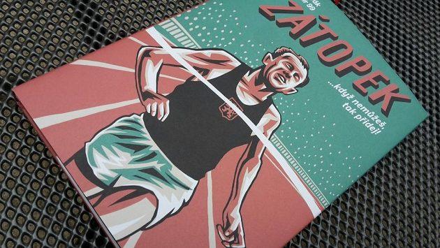 Příběh Emila Zátopka dobývá další literární obor - tentokráte komiks.