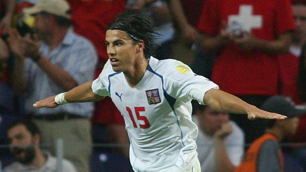 Čtvrtfinále ME 2004 proti Dánsku rozhodl dvěma góly Milan Baroš