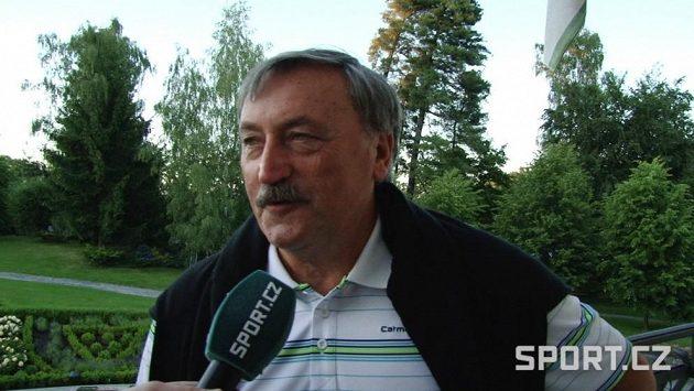 Antonín Panenka na kvalifikačním utkání s Německem chybět nebude