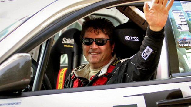 Obhájil jsem! Vítěz v kategorii speciálních vozů Tomáš Vavřinec.