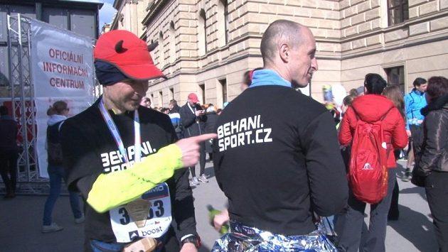 Běhání.sport.cz pomáhá - jak jinak než běháním.