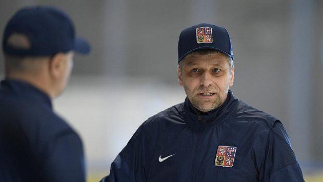 Hlavní trenér českého národního týmu hokejistů Josef Jandač.
