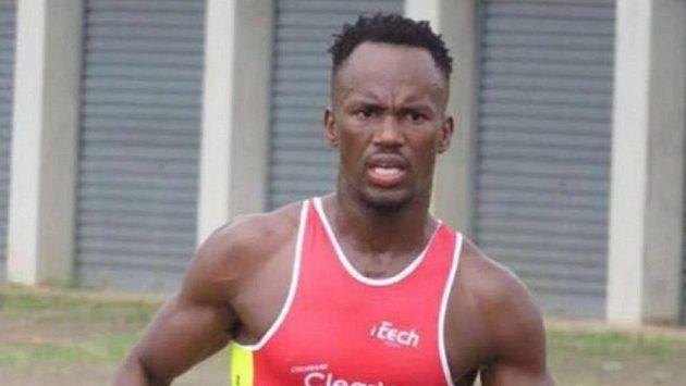 Jihoafrický triatlonista Mhlengi Gwala.