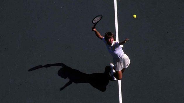Hana Mandlíková je jedinou českou vítězkou dvouhry žen na US Open.