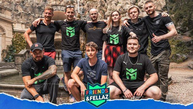 Friends & Fellaz je nový projekt české esportové organizace Entropiq.