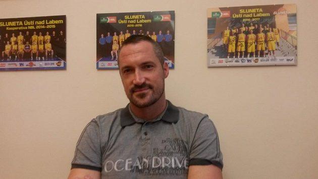 Generální manažer basketbalového klubu z Ústí nad Labem Tomáš Hrubý.