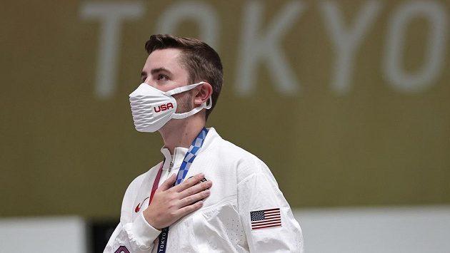 Američan William Shaner se stal olympijským vítězem ve střelbě ze vzduchové pušky