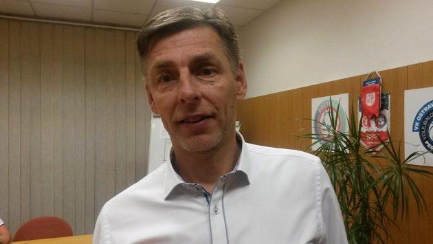 Trenér volejbalistů Jihostroje České Budějovice René Dvořák.