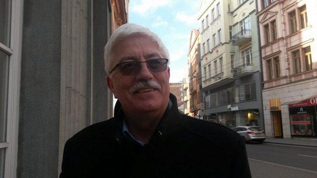 Manažer volejbalistů Ústí nad Labem Miroslav Přikryl.