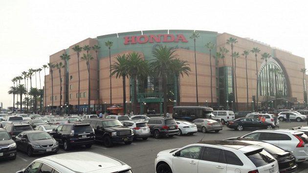 Honda Center v Anaheimu, ilustrační snímek.