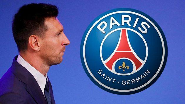 Argentinský fotbalista Lionel Messi bude hrát za PSG.