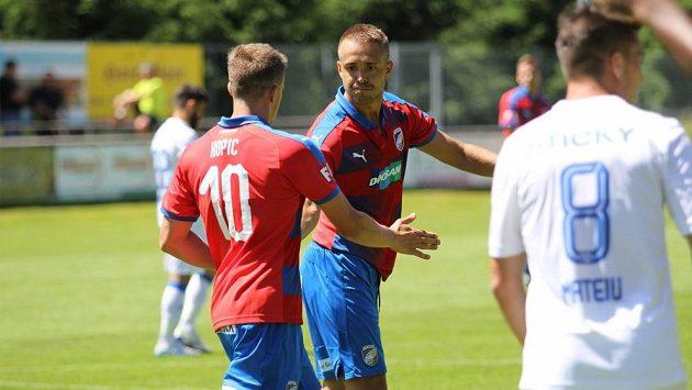 Fotbalisté Plzně na úvod soustředění v Rakousku porazili rumunskou Craiovu.