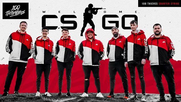 Australská sestava amerického CS:GO týmu 100 Thievs, mužstvo čeká poslední turnaj a pak skončí.