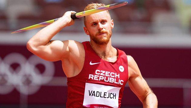 Jakub Vadlejch v kvalifikaci oštěpařů přehodil požadovaný limit.