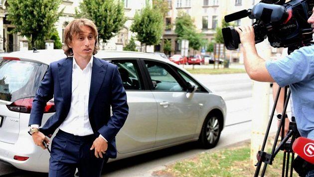 Chorvatský fotbalista Luka Modrič.