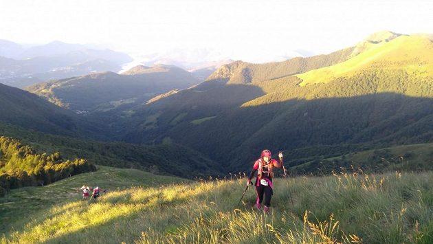 Scenic Trail - stoupání na Monte Gradiccioli.