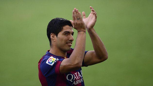 Barcelonský útočník Luis Suárez si proti Leónu zahrál poslední čtvrthodinu.