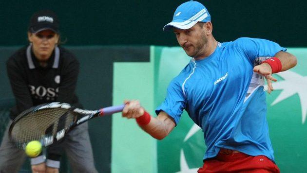 Český tenista Jan Hájek Tomáše Berdycha v deblu nenahradil.