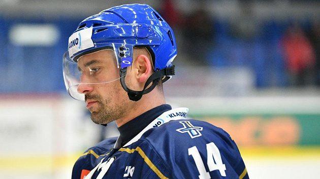 Tomáš Plekanec v dresu kladenských Rytířů.