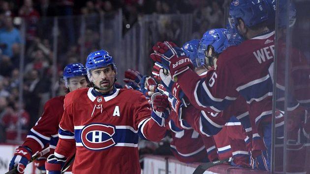 Tomáš Plekanec v dresu Montrealu.