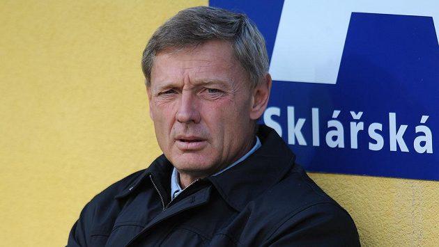 Trenér Teplic Zdeněk Ščasný letos zažíval rozporuplné pocity.