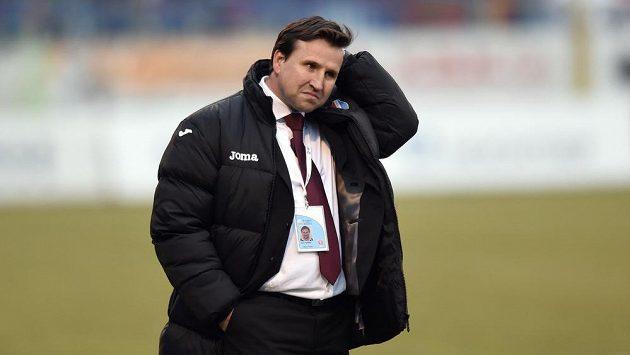 Trenér Baník Ostrava Petr Frňka.