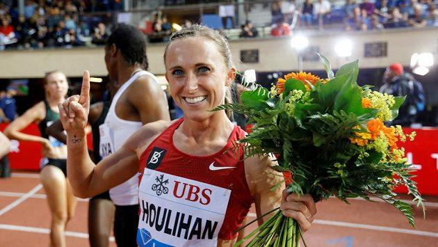 Americká běžkyně Shelby Houlihanová na snímku z roku 2018.