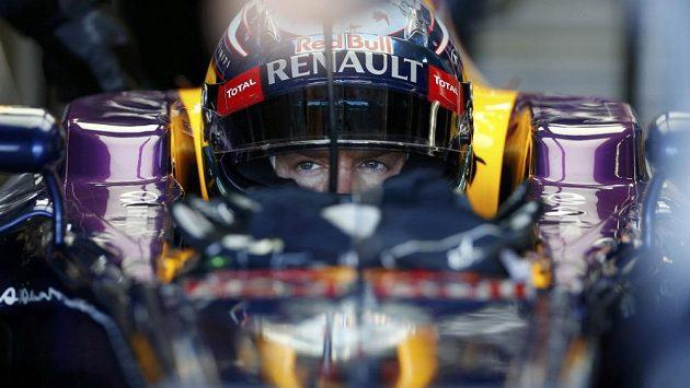 Sebastian Vettel na tréninku před VC Japonska.