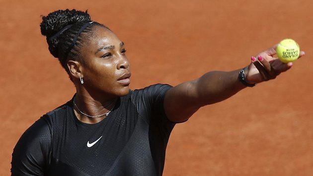 Američanka Serena Williamsová po návratu po mateřské.