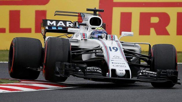 Ve Williamsu by polský jezdec mohl v příští sezóně nahradit Brazilce Felipeho Massu (na snímku).