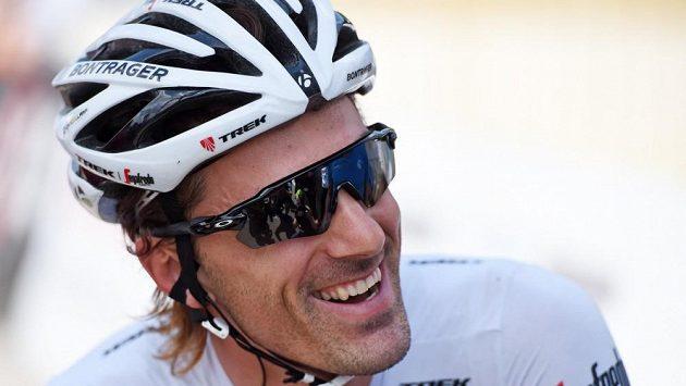Švýcarský cyklista Fabian Cancellara.