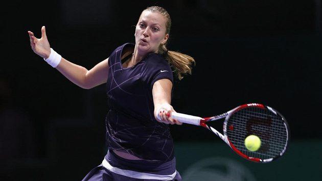 Petra Kvitová se o semifinále v Istanbulu utká s Kerberovou.