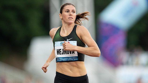 Česká atletka Zuzana Hejnová.