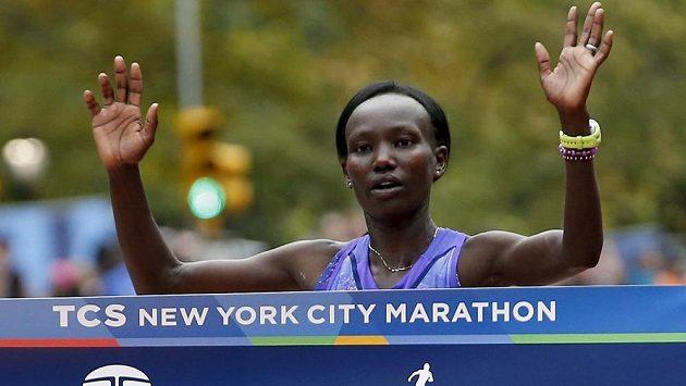 Mary Keitanyová z Keni vyhrála Newyorský maratón.