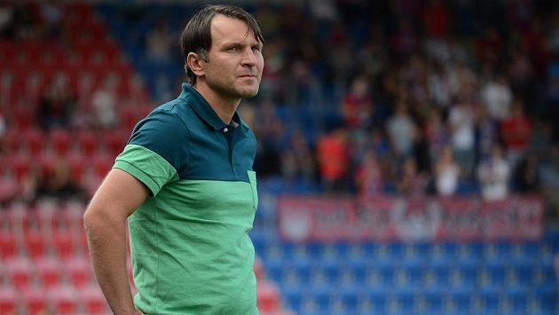 Jablonecký trenér Roman Skuhravý