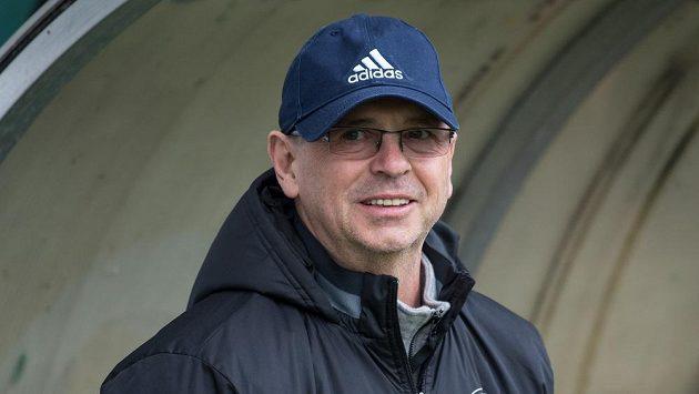 Trenér Zlína Bohumil Páník.