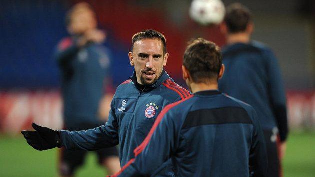 Záložník Bayernu Mnichov Frank Ribery - ilustrační foto.
