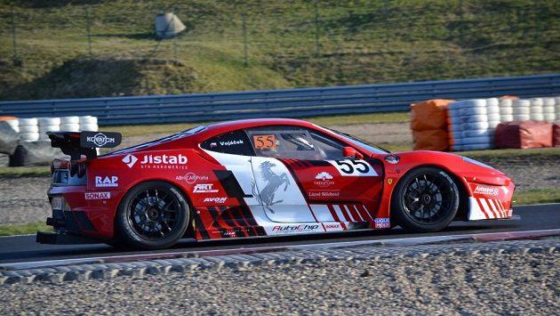 Petr Vojáček a jeho Ferrari.