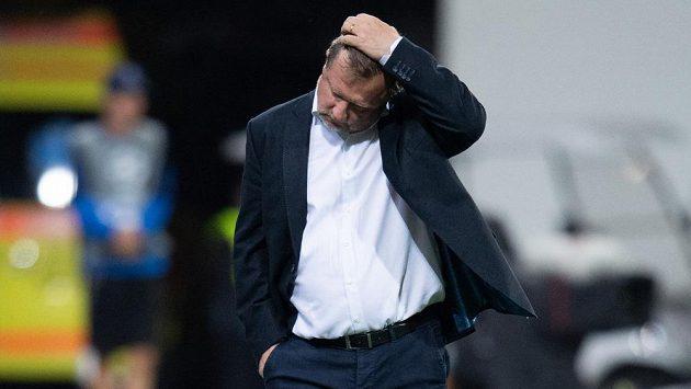 Plzeňský kouč Pavel Vrba nebyl s výkonem svého týmu spokojen
