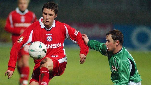Aleš Schuster (vlevo) v brněnském dresu na snímku z roku 2004.