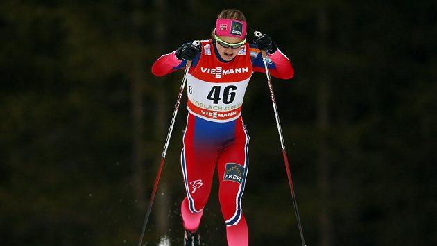 Norská běžkyně na lyžích Ingvild Östbergová