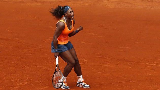 Vítězka Turnaje mistryň 2012 Serena Williamsová