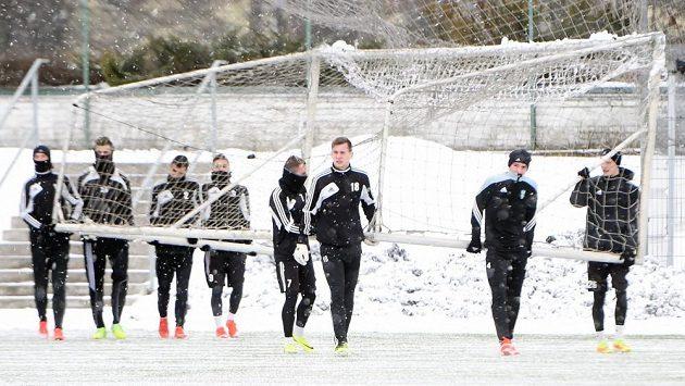 Fotbalisté Karviné zahájili přípravu na jarní část sezóny.