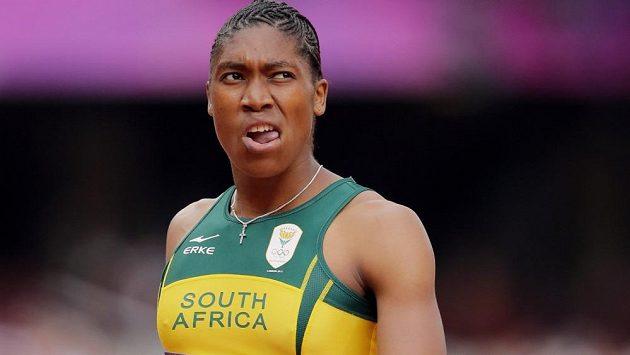 Jihoafrická atletka Caster Semenyaová