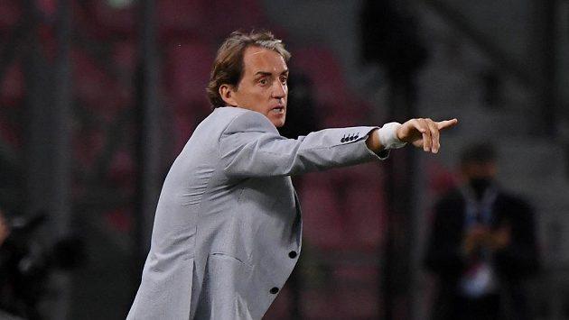 Kouč Itálie Roberto Mancini.