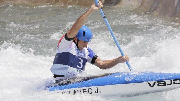Jiří Prskavec ve finále mistrovství světa v Riu.