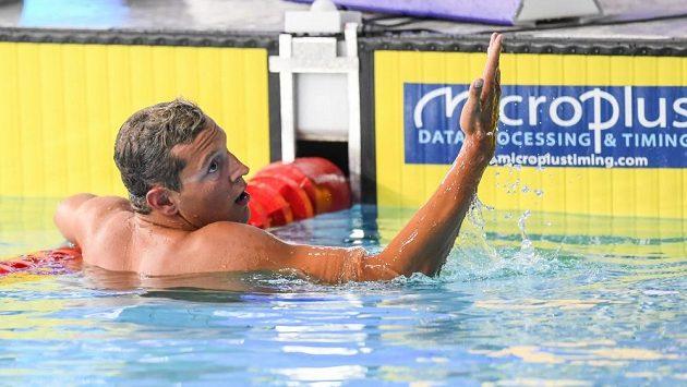 Plavec Jan Micka na archivním snímku.